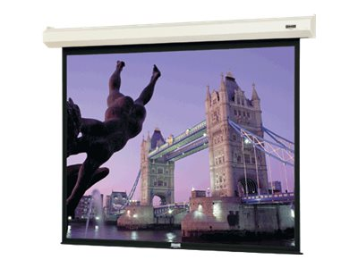 Da-Lite Cosmopolitan Electrol Projection Screen, HC Matte White, 7' x 9'