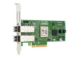 Cisco Emulex LPE 12002 8GB 2-port Fiber Adapter, N2XX-AEPCI05=, 13414974, Network Adapters & NICs