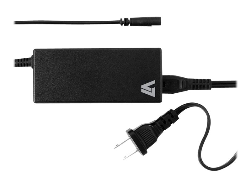 V7 65W 19V Universal 5-Tip AC Adapter for Select HP Compaq Notebooks, AC2065H5-2N