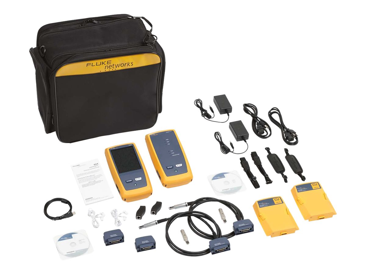 Fluke DSX-5000 CableAnalyzer with 1 year Gold Support, DSX-5000 120/GLD, 15900677, Network Test Equipment