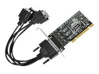 Siig Dual Profile 4-Port RS422 485 PCI Adapter Card