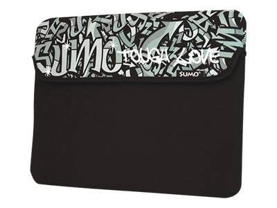 Mobile Edge 10 Graffiti Netbook Sleeve, Black, ME-SUMO77101, 9740638, Protective & Dust Covers