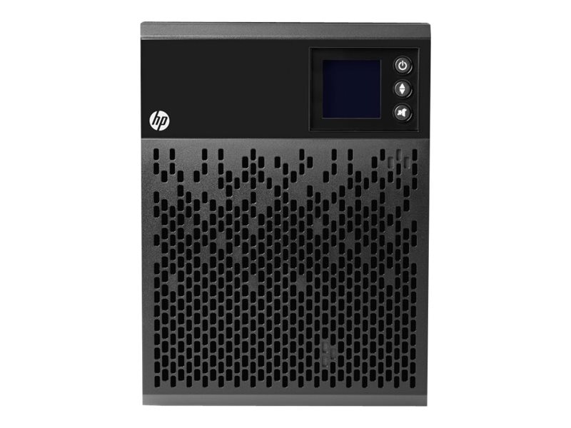 HPE T750 G4 1000VA 700W 120V Line Interactive Tower UPS 5-15P Input (4) 5-15R Outlets (NA JP)