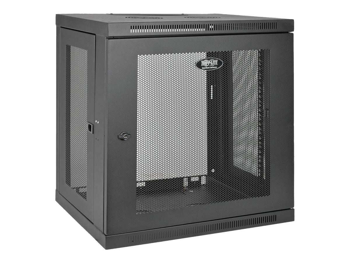 Tripp Lite SmartRack 12U Wall-Mount Rack Enclosure Cabinet, Instant Rebate - Save $15, SRW12U, 14768555, Racks & Cabinets