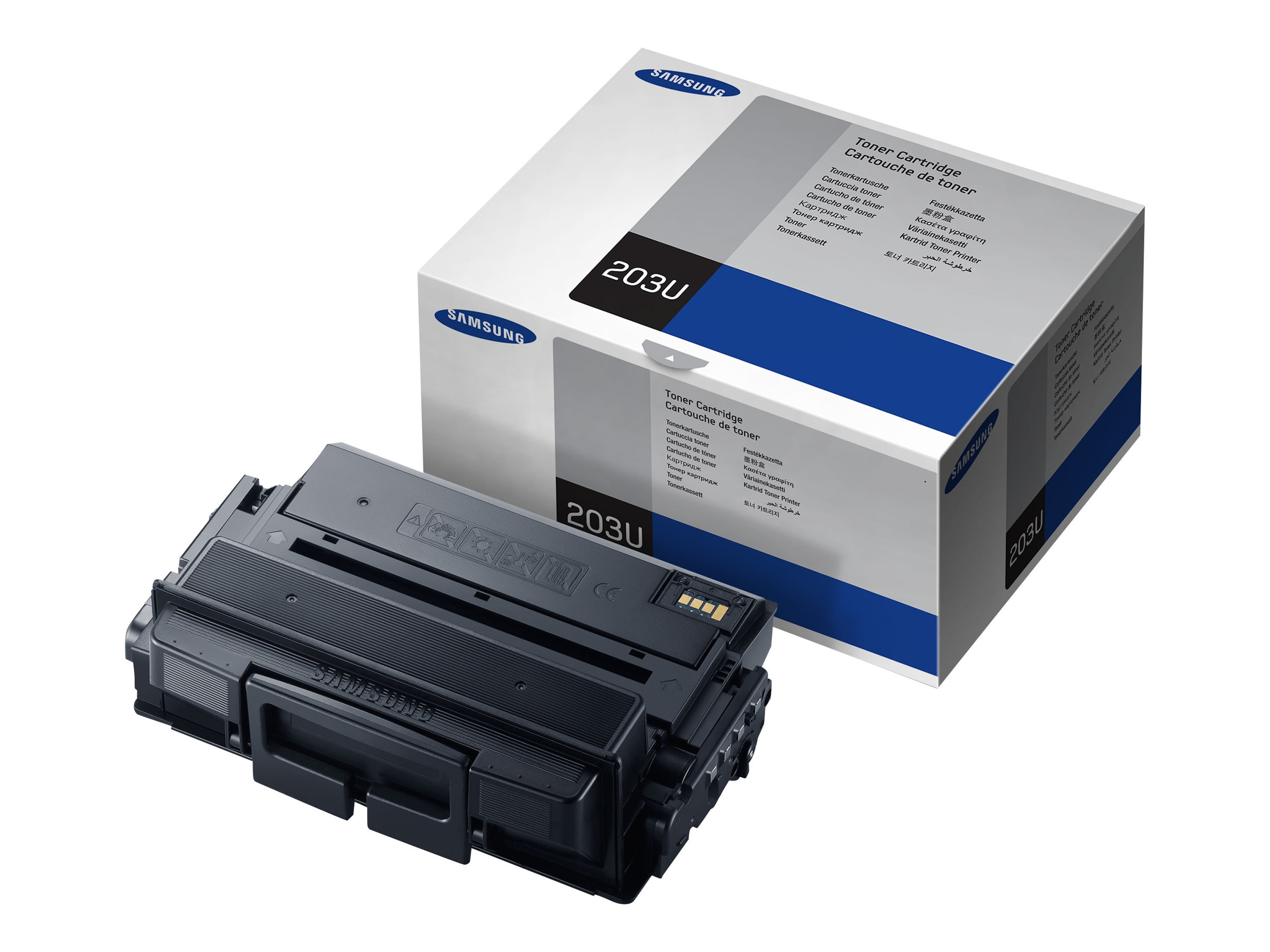 Samsung Black Ultra High Yield Toner Cartridge for Multifunction ProXpress M4070FR & ProXpress M4020ND, MLT-D203U/XAA