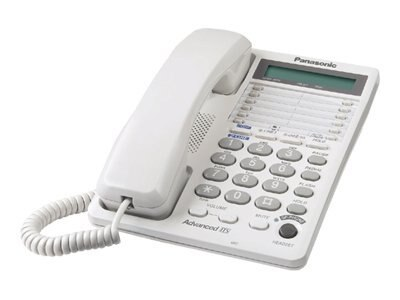 Panasonic 2-Line Integrated Telephone System with 3-Way Conferencing, KX-TS208W