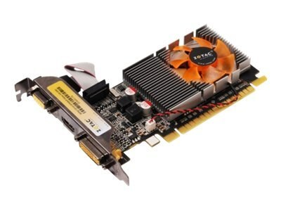 Zotac GeForce GT 610 PCIe Synergy Edition Graphics Card, 2GB GDDR3, ZT-60601-10L, 14291371, Graphics/Video Accelerators