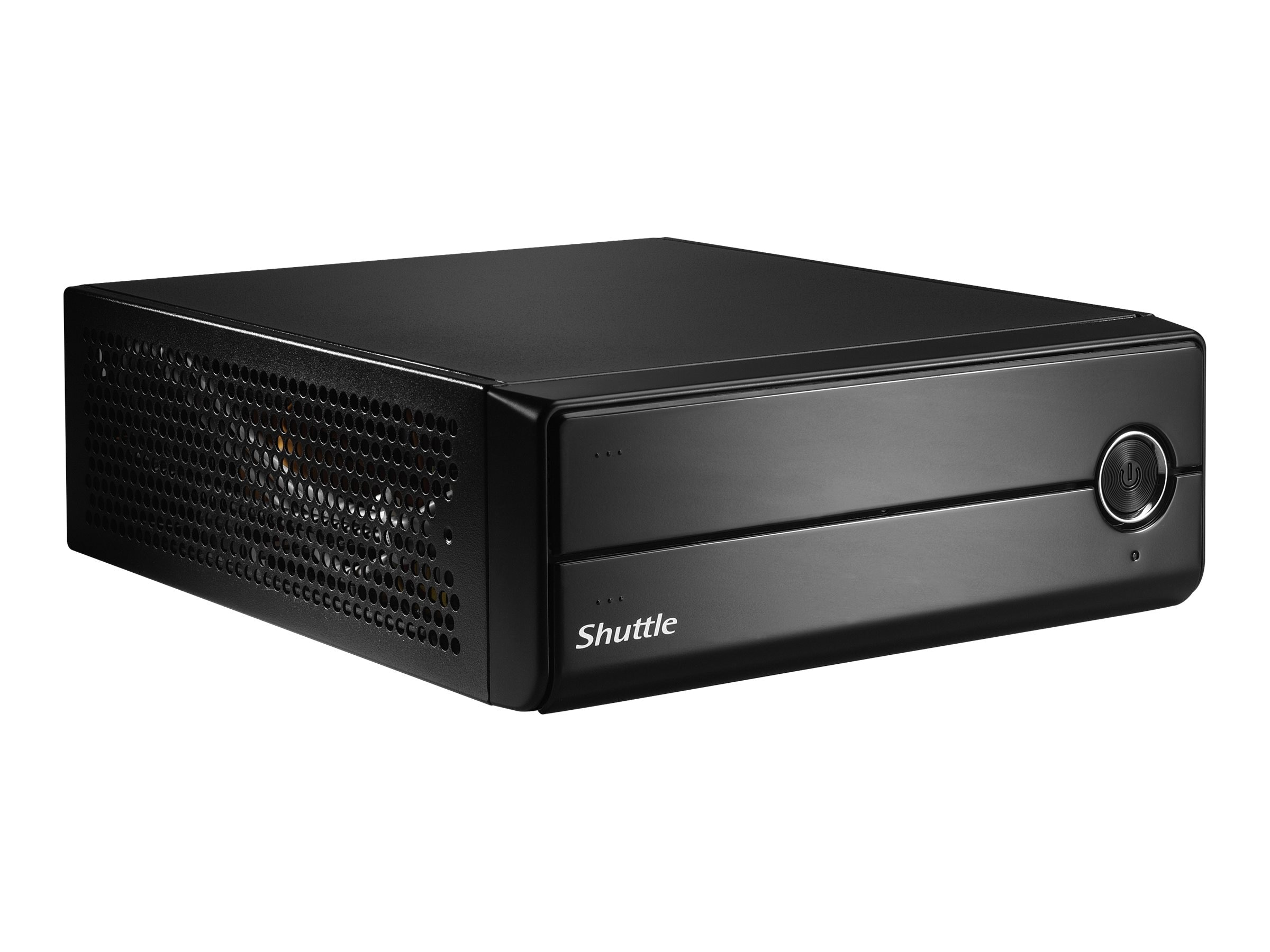Shuttle Barebones, XH81V Slim PC Mini-ITX H81 Core i3 i5 i7 Family Max.16GB DDR3 1x2.5 Bay NIC NoOS, XH81V, 17918070, Barebones Systems