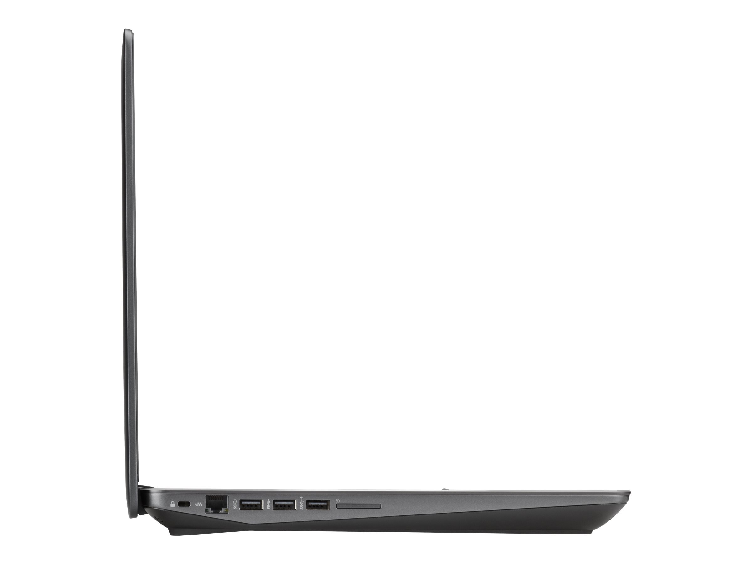 HP ZBook 17 G3 Core i7-6820HQ 2.7GHz 16GB 256GB SSD ac BT FR WC M3000M 17.3 FHD W7P64-W10P, V2D20AW#ABA