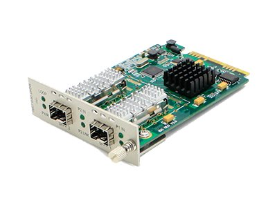 ACP-EP 10Gbps SFP+ to 2-port SFP+ Media Converter