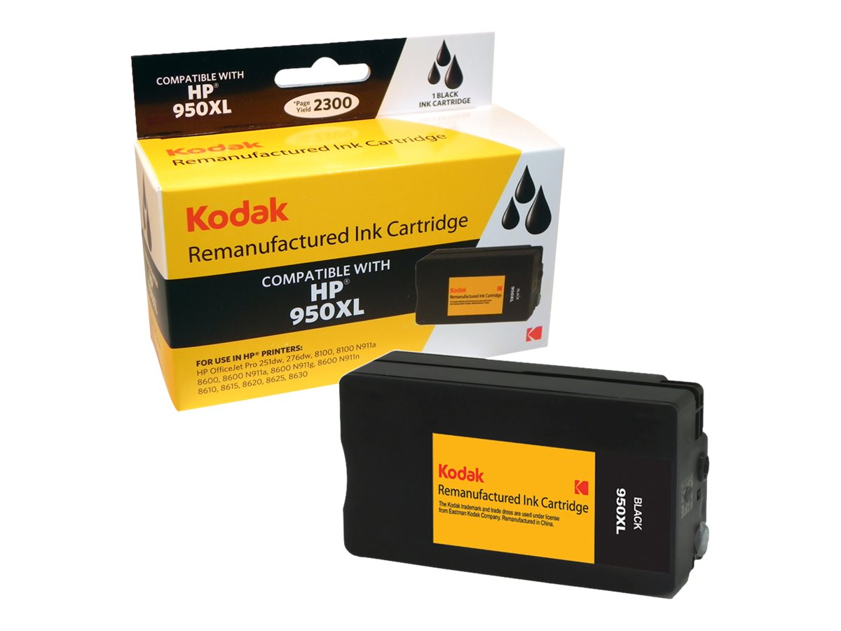 Kodak Black High Yield Ink Cartridge for HP, CN045AN-KD