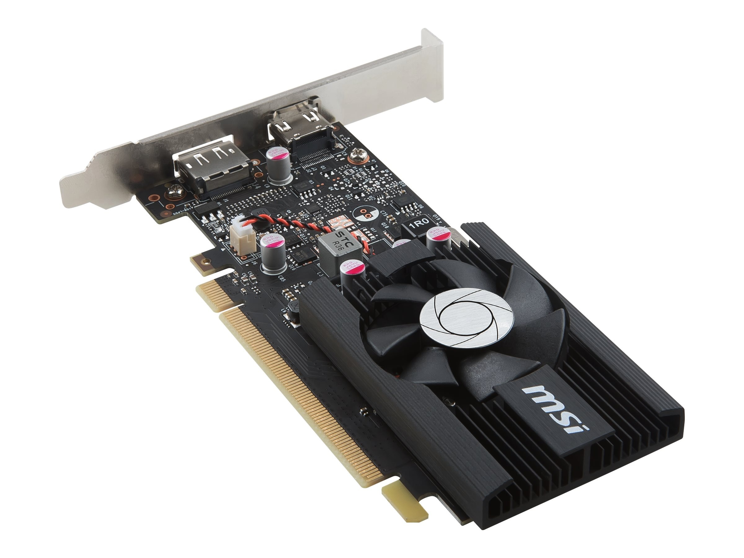 Microstar GeForce GT 1030 PCIe 3.0 Overclocked Graphics Card, 2GB GDDR5