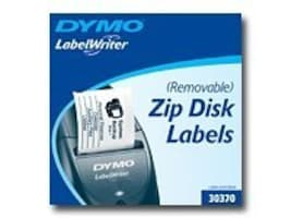 DYMO Zip Drive Cartridge Removable Labels, 30370, 114524, Paper, Labels & Other Print Media