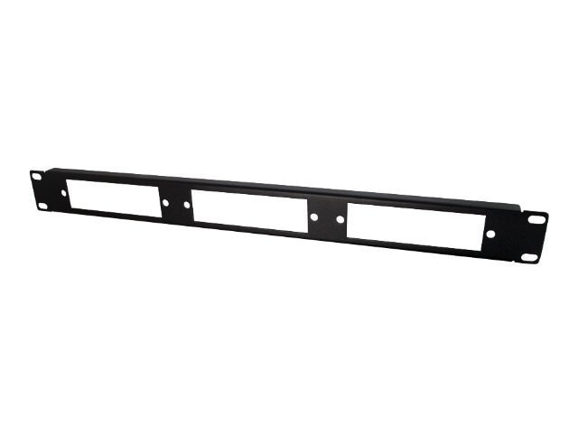 C2G Q-Series 1u 3-Panel Rackmount Fiber Optic Panel, 39104, 8993060, Rack Cable Management