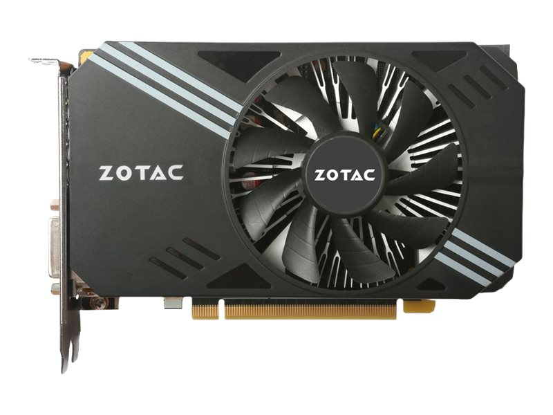 Zotac GeForce GTX 1060 Mini Edition PCIe 3.0 Graphics Card, 6GB GDDR5, ZT-P10600A-10L