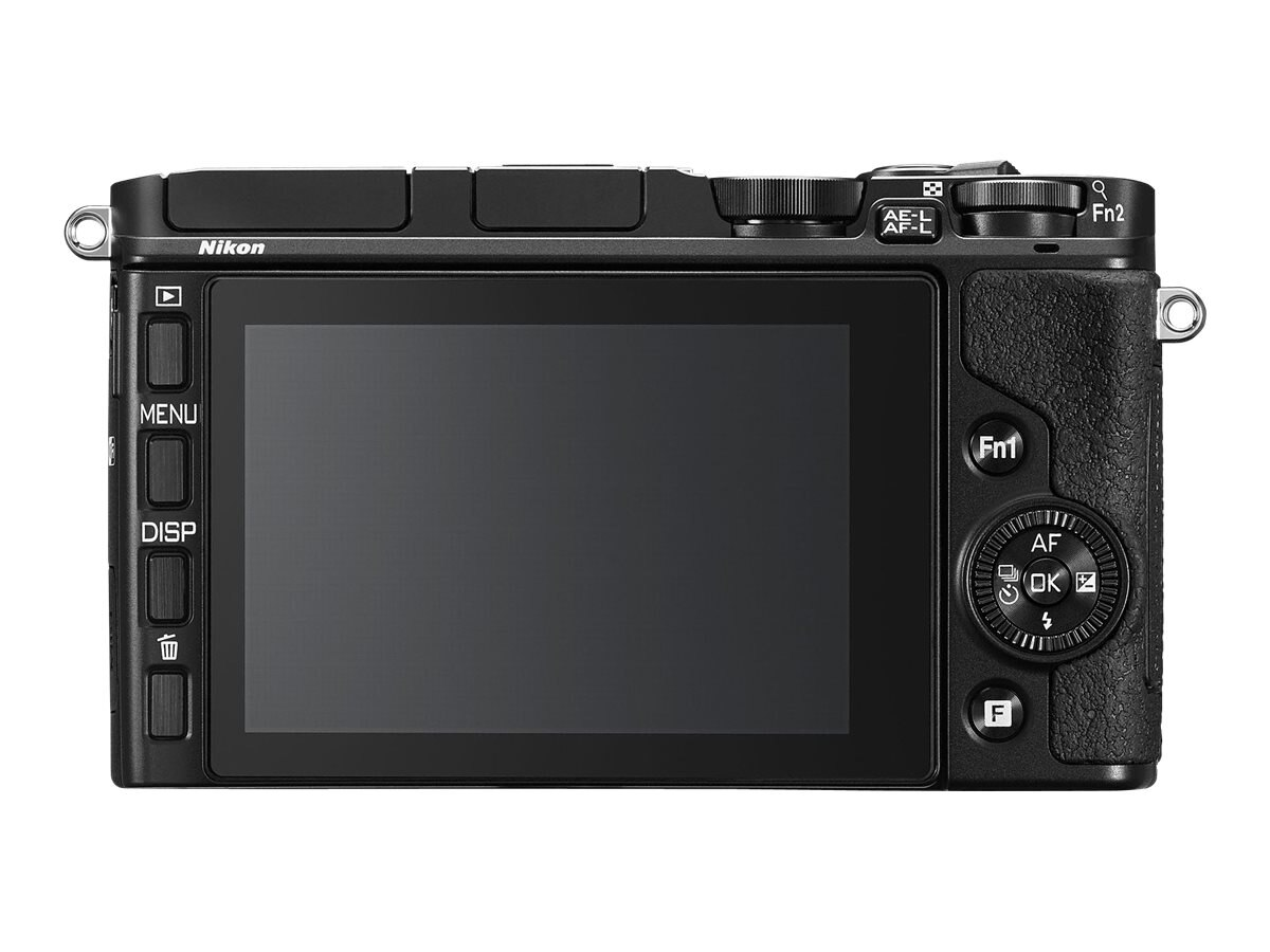 Nikon Nikon 1 V3 Mirrorless Digital Camera, Black with 10-30mm Lens, 27695
