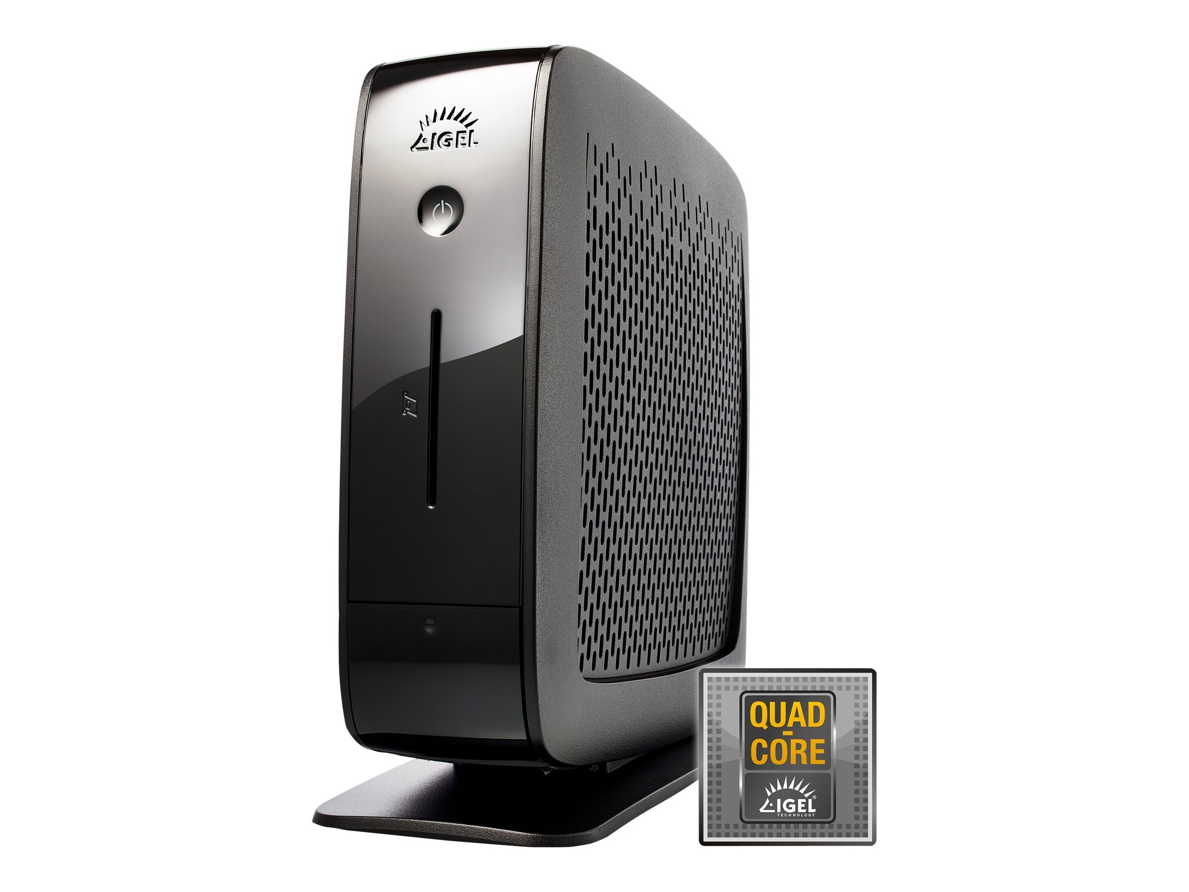 IGEL UD6 Universal Desktop Thin Client QC 2.0GHz 2GB RAM 4GB SSD WES7, 62-UD6-W751-34BL, 18368823, Thin Client Hardware