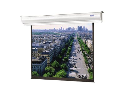Da-Lite Contour Electrol Projection Screen with SCB-100, Matte White, 16:9, 110