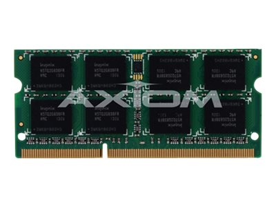 Axiom 8GB PC3-12800 204-pin DDR3 SDRAM SODIMM for Select Models, B4U40AA-AX, 14512921, Memory