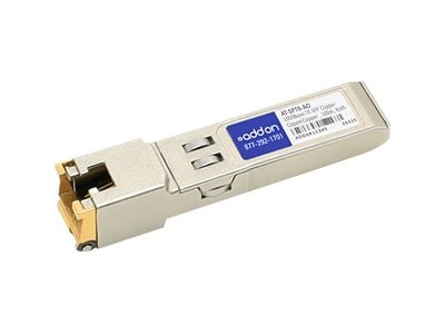 ACP-EP SFP 100M TX XCVR AT-SPTX TAA XCVR 1-GIG TX RJ-45 Transceiver for Allied, AT-SPTX-AO