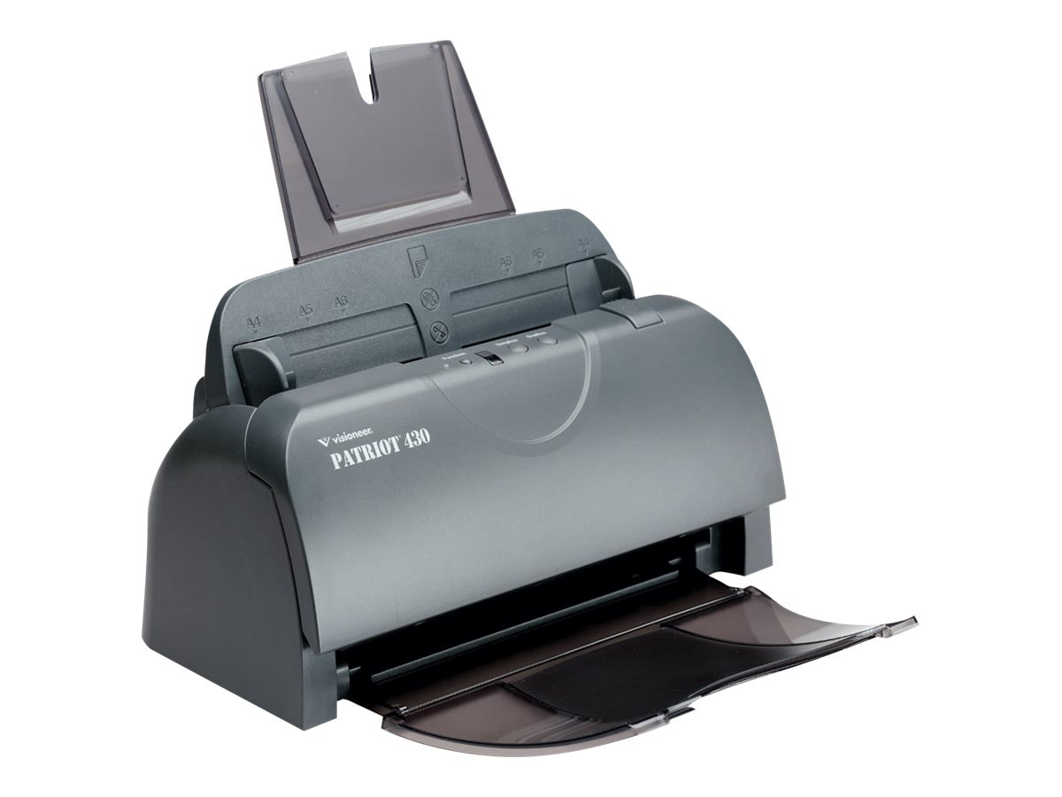 Visioneer Patriot 430 TAA-Compliant Duplex Sheetfed Scanner, P4301D-WU