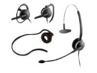Jabra 4-in-1 Wearing Style Flex Boom Noise-Canceling Headset, GSA2104-820-105, 16322303, Headsets (w/ microphone)