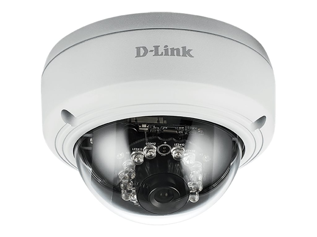 D-Link Full HD Outdoor Vandal Proof PoE Dome Camera, DCS-4602EV, 30564000, Cameras - Security
