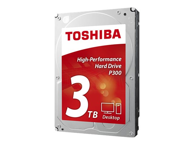 Toshiba 3TB P300 3.5 Internal Hard Drive, HDWD130XZSTA, 29491245, Hard Drives - Internal
