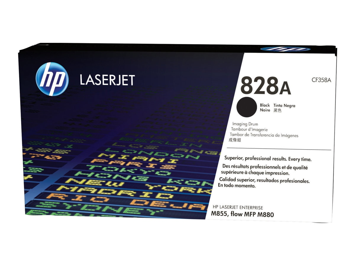 HP 828A Black LaserJet Imaging Drum for HP Color LaserJet Enterprise M855 Series