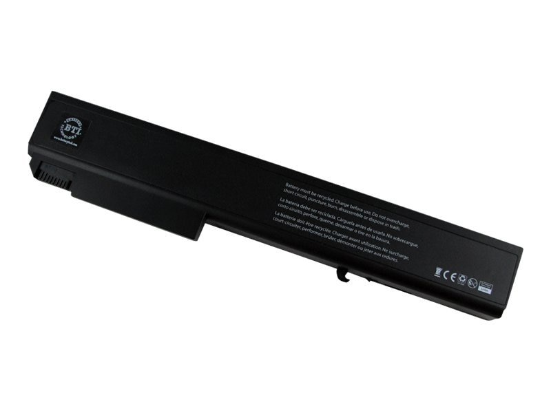 BTI Battery, Li-Ion 14.8V 5200mAh 8-cell for HP Elitebook 8530P 8530W 8730P 8730W Series, KU533AA-BTI, 12955306, Batteries - Notebook