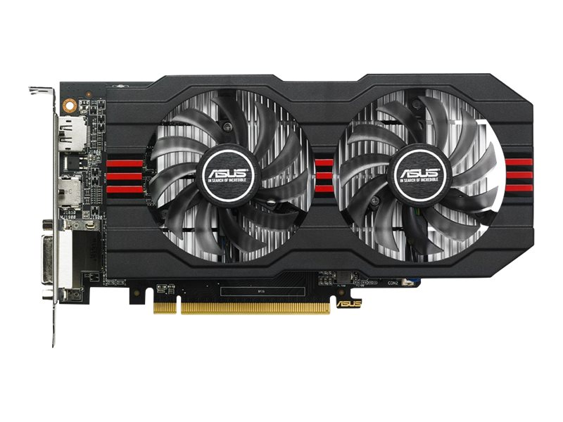 Asus AMD Radeon R7 360 PCIe 3.0 Overclocked Graphics Card, 2GB GDDR5