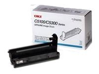 Oki Cyan Image Drum for OKI Color LED Printers, 42126603, 427326, Toner and Imaging Components