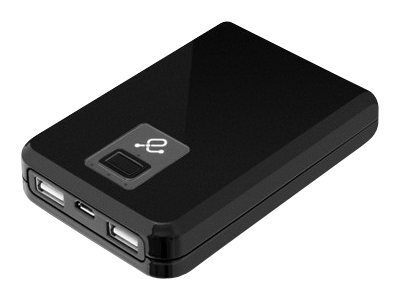 Aluratek Dual USB 10400mAh Portable Charger w  Built-In Battery 2.1A, APB04F, 31175057, Batteries - Other
