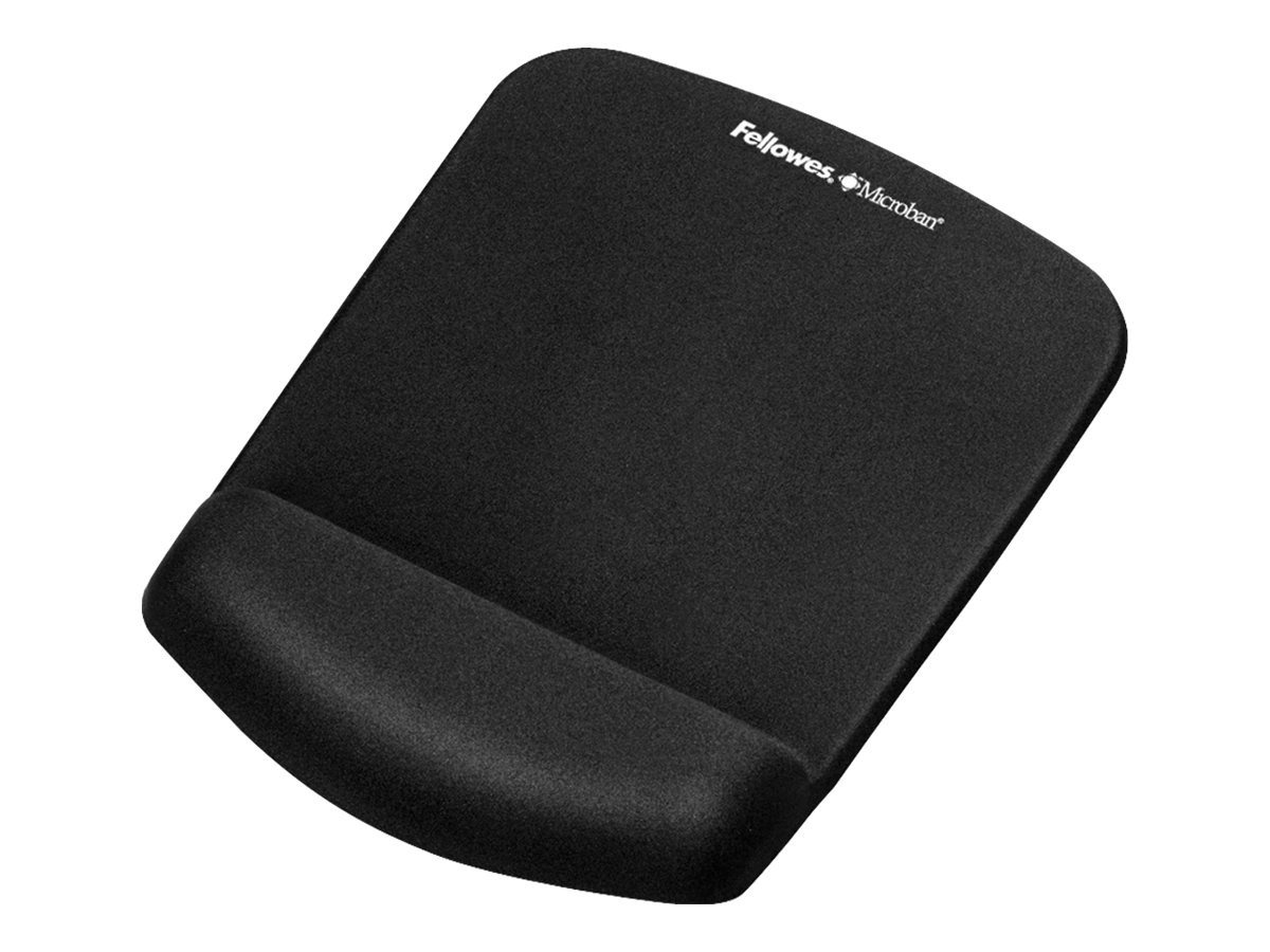 Fellowes Plush Touch Mouse Pad, Black, 9252001, 14864281, Ergonomic Products