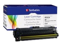 Verbatim CE741A Cyan Remanufactured Toner Cartridge for HP
