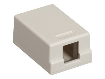 Black Box Gigastation Plus Surface Mount Box, Office White