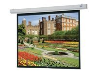 Da-Lite Designer Contour Electrol Projection Screen with IR Remote, Matte White, Square, 6x8ft, 89726W, 8110870, Projector Screens