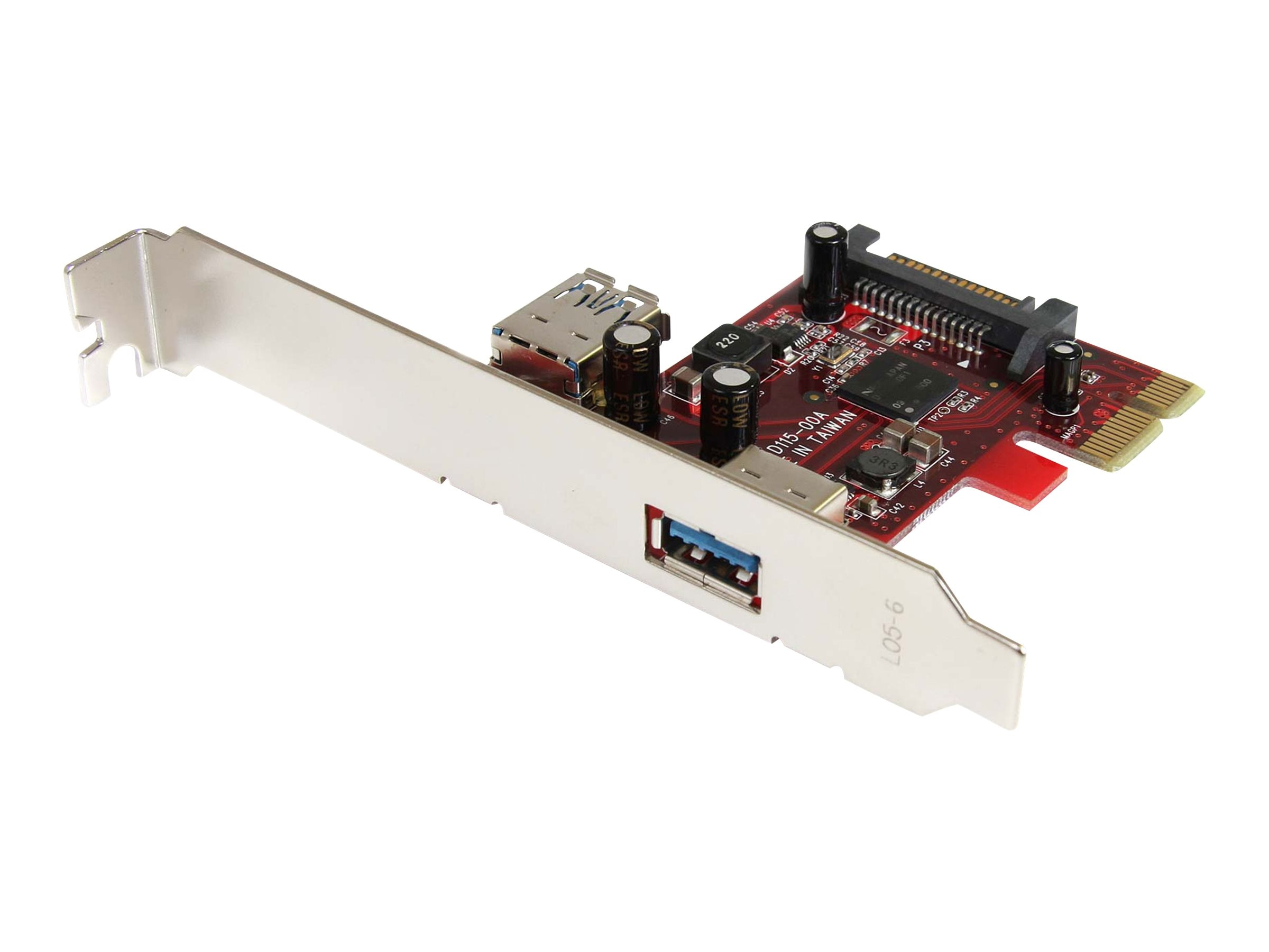 StarTech.com 1 Internal and 1 External Superspeed USB 3 Card PCIe, PEXUSB3S11, 11565912, USB & Firewire Hubs