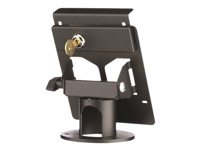 MMF POS Locking Payment Terminal Stand for MX 915, Black, MMFPSL9504