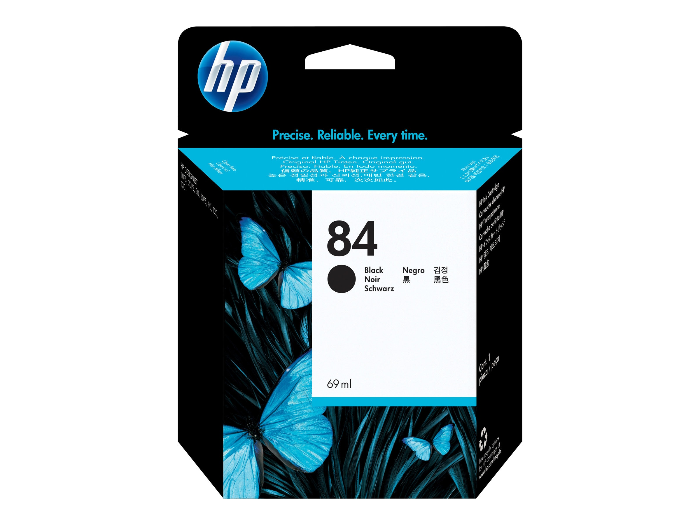 HP 84 Black Ink Cartridge for the DesignJet 10PS, 20ps & 50ps, C5016A