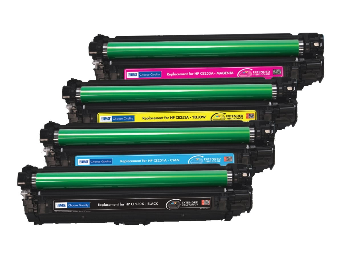 CE250X Black Extended Yield Toner Cartridge for HP 3525