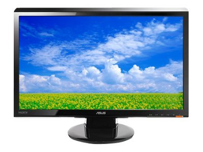 Asus 23 VH238H Widescreen LED-LCD Full HD Monitor, Black