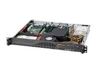 Supermicro 1U Barebones SuperServer 50161-MR, 3400 UP, 4 DIMM, 1X 3.5 SATA, PCIE-X8, 200W