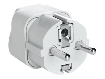 Conair Travel Smart Grounded Adapter Plug for Europe, Middle East, Africa, Asia, Caribbean