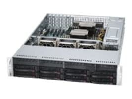 Supermicro SuperServer 6027AX 2U RM Xeon E5-2600 Family Max.512GB DDR3 10x3.5 HS Bays 3xPCIe GNIC 1280W RPS, SYS-6027AX-72RF, 14764861, Servers