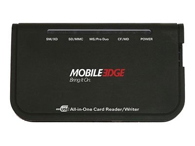 Mobile Edge Universal Memory Card Reader, MEACR2, 9072730, PC Card/Flash Memory Readers
