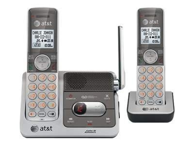 AT&T 2-Handset Cordless Telephone with Caller ID Call Waiting, CL82201, 12555855, Telephones - Consumer
