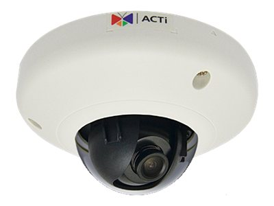 Acti 1MP Indoor Mini Dome Camera w  Basic WDR & Fixed Lens