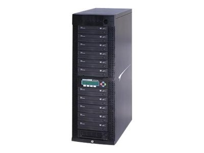 Kanguru™ 11 Target 24x Kanguru Network DVD Duplicator w  Built-in Hard Drive, NET-DVDDUPE-S11, 13818856, Disc Duplicators