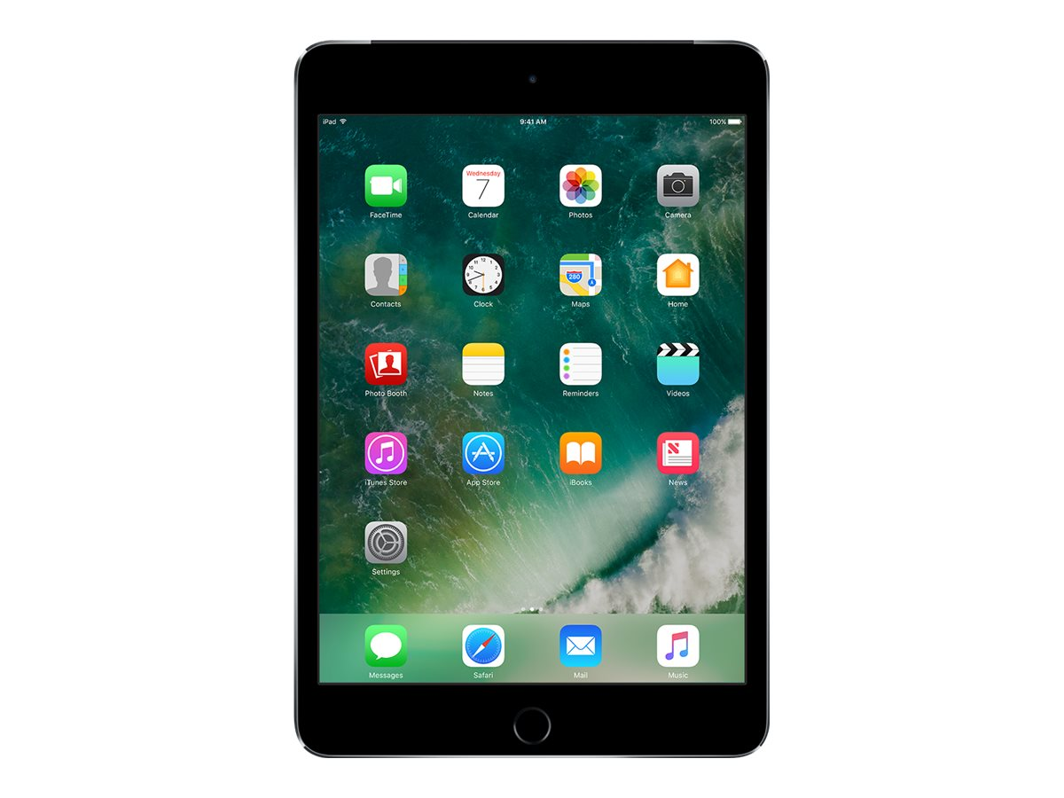 Apple iPad Mini 4 32GB, WiFi+Cellular for Apple SIM, Space Gray